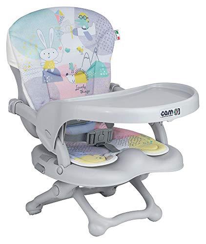 Cam il Mondo del Bambino - Rialzo da sedia Smarty Pop col.243