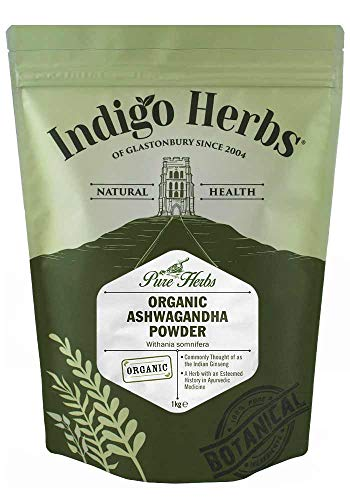 Indigo Herbs Bio Ashwagandha Poeder 1kg