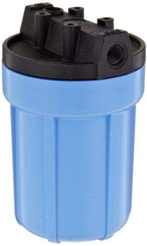 Pentek 158138 1/4' #5 Slim Line Blue Filter Housing