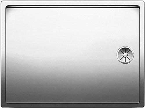 Blanco Claron 550-T-U, Tropffläche für den Unterbau (Tiefe 17 mm), Unterbaubecken, Edelstahl Seidenglanz; 521562