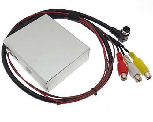 Video DVD Multimedia Cinch Adapter Kabel für MFD RNS Navi Plus kompatibel mit Audi Seat Skoda VAG