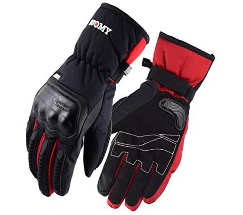 Invierno Caliente Guantes De Motociclismo Impermeable Y A Prueba De Viento Pantalla Táctil Luva Motociclista Luvas Moto-A47-L