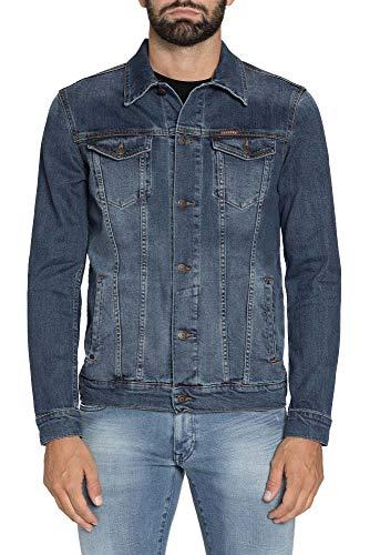 Carrera Jeans - Giubbino Jeans per Uomo, Tessuto Elasticizzato IT XL