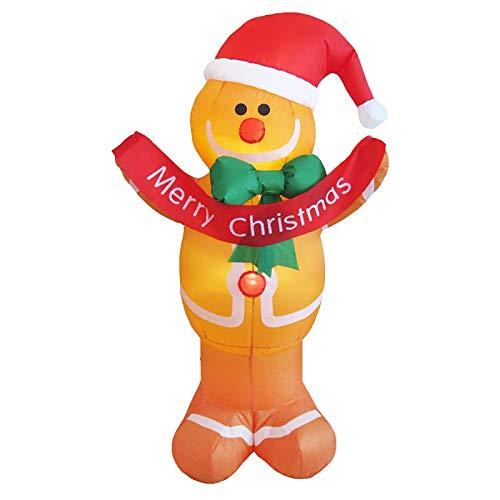Gonfiabile di Natale, Babbo Natale gonfiabile, decorativo, creativo, per feste, Natale