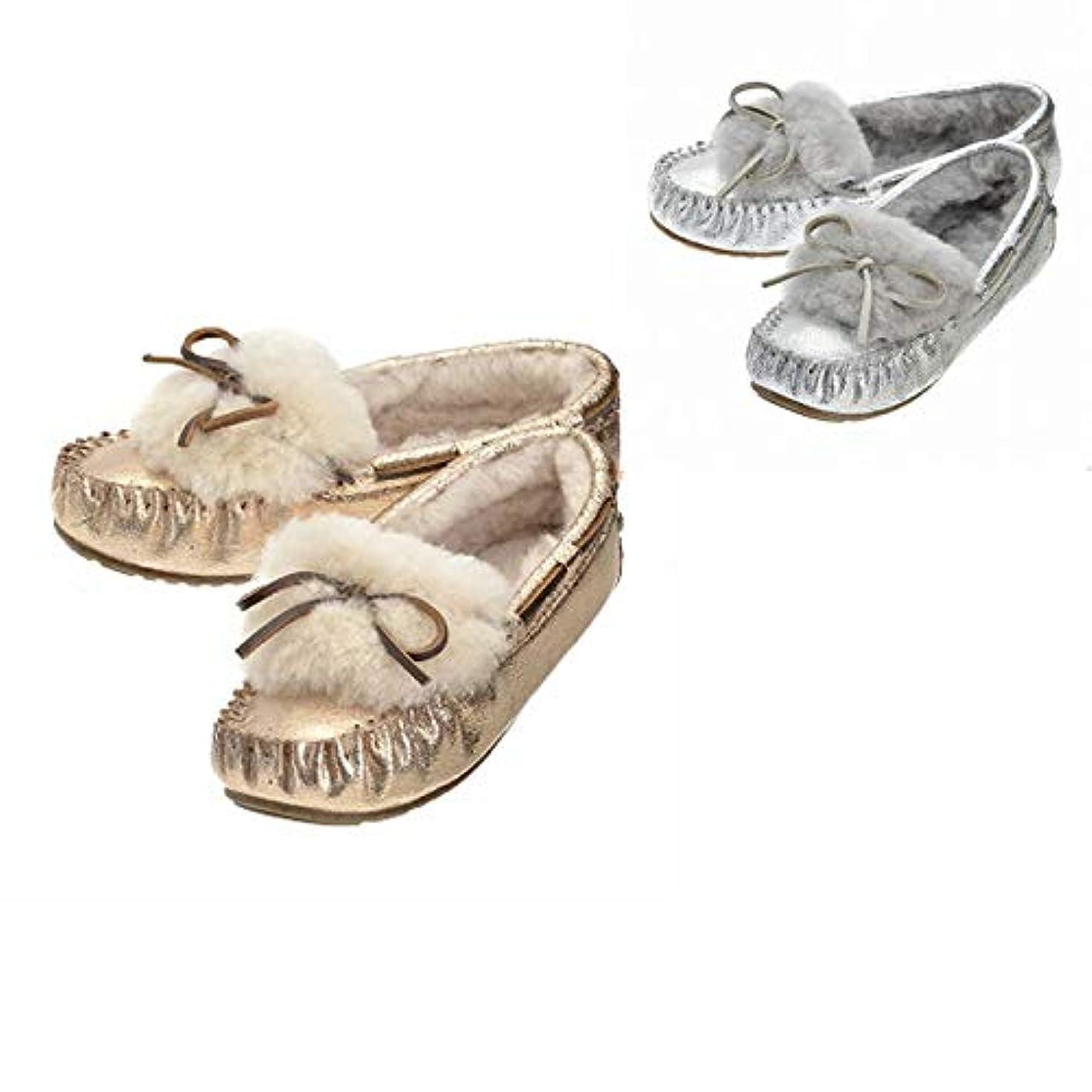 トラック病気の王室[エミュー] モカシン AMITY CUFF CRACKLED アミティ レディース ムートン シューズ 靴 モカシン/デッキシューズ W11853 0012 [並行輸入品]