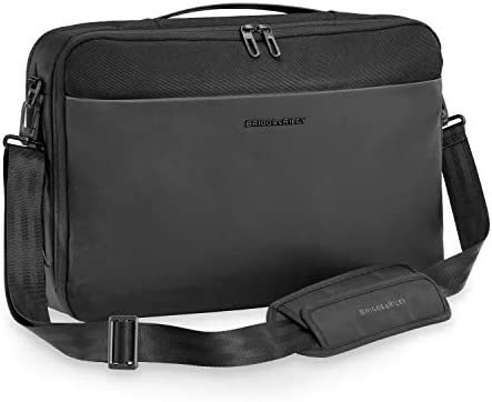 Briggs Riley Hybrid Convertible Laptop Backpack Briefcase Black 11 5 x 17 x 5 product image