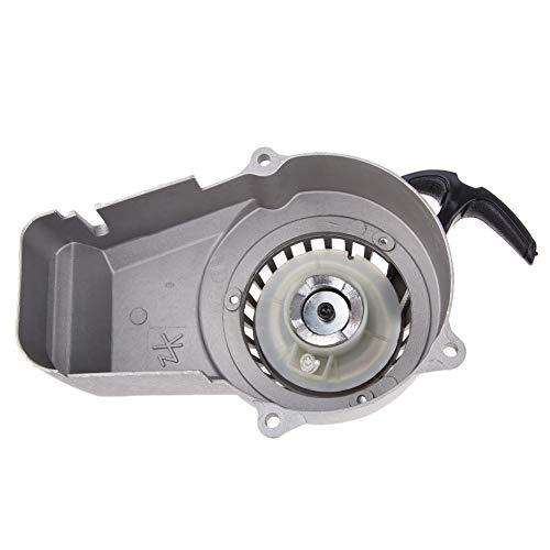 Univsal Mortor Aluminium Pull Starter Start Mini Pocket Bikes ATV's Quad 49cc maaier motoren voor motorfiets