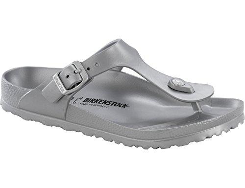 Birkenstock Classic GIZEH EVA Damen Zehentrenner, Grey, 37 EU