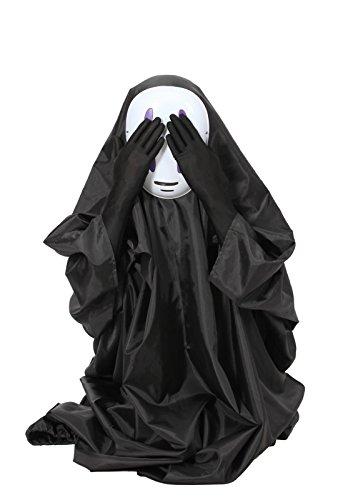 『カオナシフルセット マスク&ロング手袋付き コスチューム フリーサイズ』の7枚目の画像