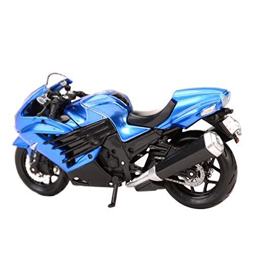 Diecast Model Car 1:18 para Kawa&Saki-Ninja ZX-14R Vehículos De Fundición De La Matriz Coleccionable Modelo De Motocicleta De Colección Regalos para Niños Niño Niña
