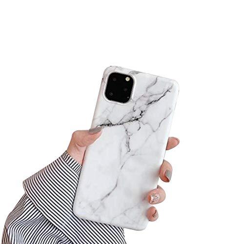 Hoesje iPhone 11/11Pro/11ProMax mobiele telefoonhoesje marmer gouden folie shell TPU zachte siliconen krasbestendige bumper hoesje beschermhoesje voor