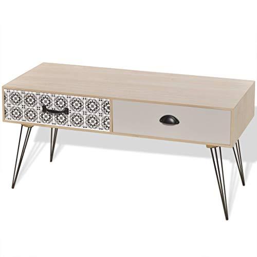 TV dressoir 100x40x35 cm bruin