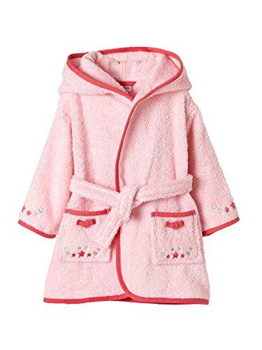 Vertbaudet Baby Bademantel Maus rosa 92