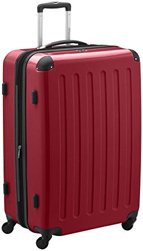 HAUPTSTADTKOFFER - Alex - Valise à coque dure Rouge Brillant, TSA, 75 cm, 119 litres