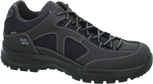 Hanwag Gritstone II Wide GTX Schuhe Herren Asphalt/Black Schuhgröße UK 8 | EU 42 2020