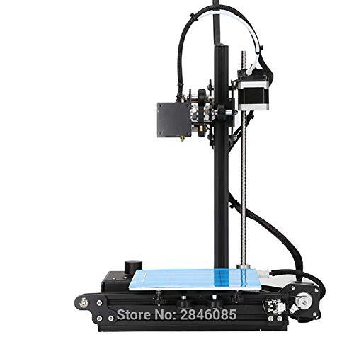 Tonysa Imprimante 3D Kit de Bricolage 120 mm/s Plate-Forme d'impression de Cadre en Aluminium avec Foyer chauffé et buse Imprimante 3D de Bricolage Professionnelle(Prise UE)