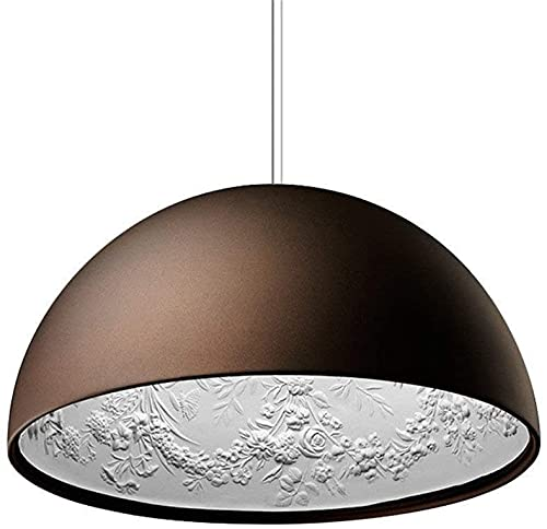 Luz colgante moderna, lámpara de suspensión industrial E27 Hecho de resina y metal, altura ajustable, Sky Garden Motif Lámpara de diseño Lámpara de techo para sala de estar comedor comedor mesa de com