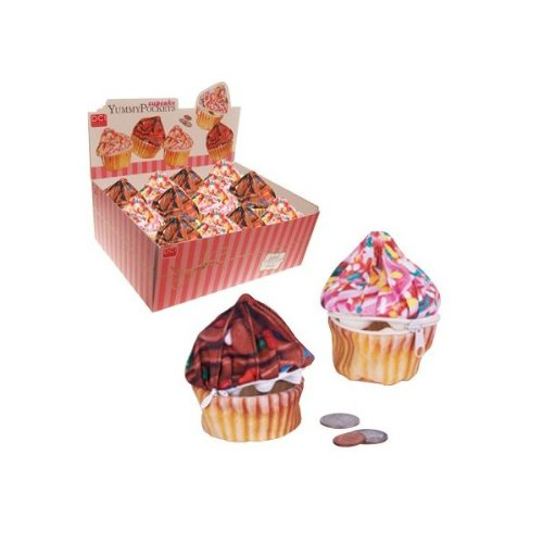 DCI Cupcake YummyPocket, Diverse Chocolade of Roze