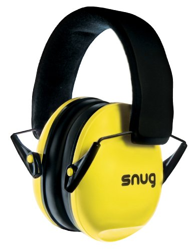 Snug Kids Ear Protection - Noise Cancelling Sound Proof Earmuffs/Headphones for Toddlers, Children & Adults (Yellow)