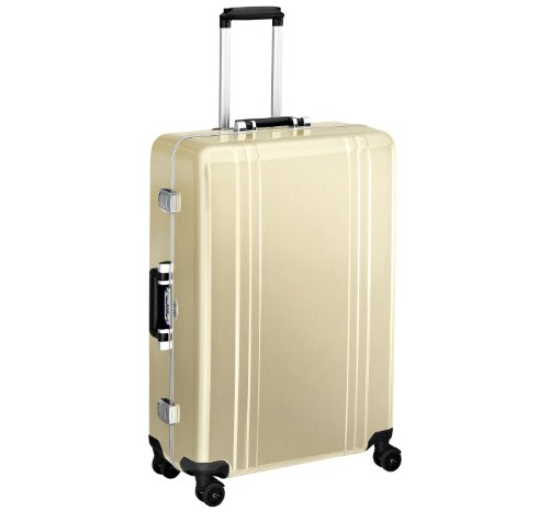 Great Price! Zero Halliburton Classic Polycarbonate 28 Inch 4 Wheel Spinner Travel Case, Polished Gold, One Size