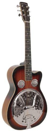 Gold Tone Paul Beard Signature Series PBR-CA Roundneck Resonator Guitar (Vintage Mahogany),Sunburst