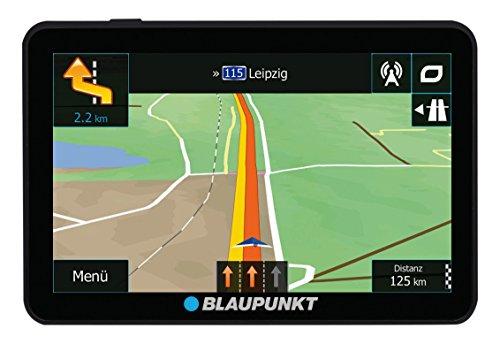 Blaupunkt TravelPilot 54 Camping EU LMU - Camping & Caravan Navigationssystem mit 12,7 cm (5 Zoll) Display, Bluetooth Freisprecheinrichtung, Kartenmaterial Europa, lebenslange Karten-Updates*, TMC Stauumfahrung, Fahrspurassistent