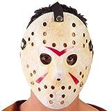 FIESTAS GUIRCA S.L. Masque de Hockey Blanc Tueur en série Adulte