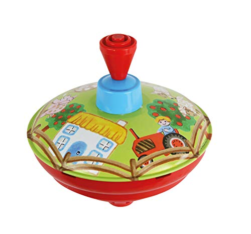 Bolz 52412 peonza - Peonzas (Pump Spinning Top, Multicolor, 1,5 año(s), Niño/niña, República Checa, 130 mm)