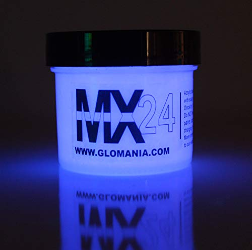 Green MX24 Extreme Glow in The Dark Paint Daytime Invisible Range 1oz …