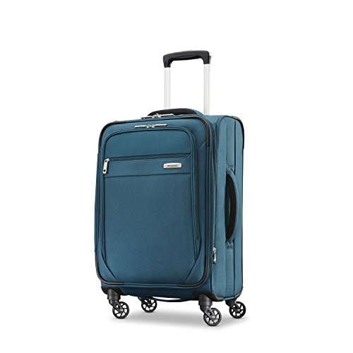 Samsonite Advena Softside Expandable Luggage with Spinner Wheels, Teal