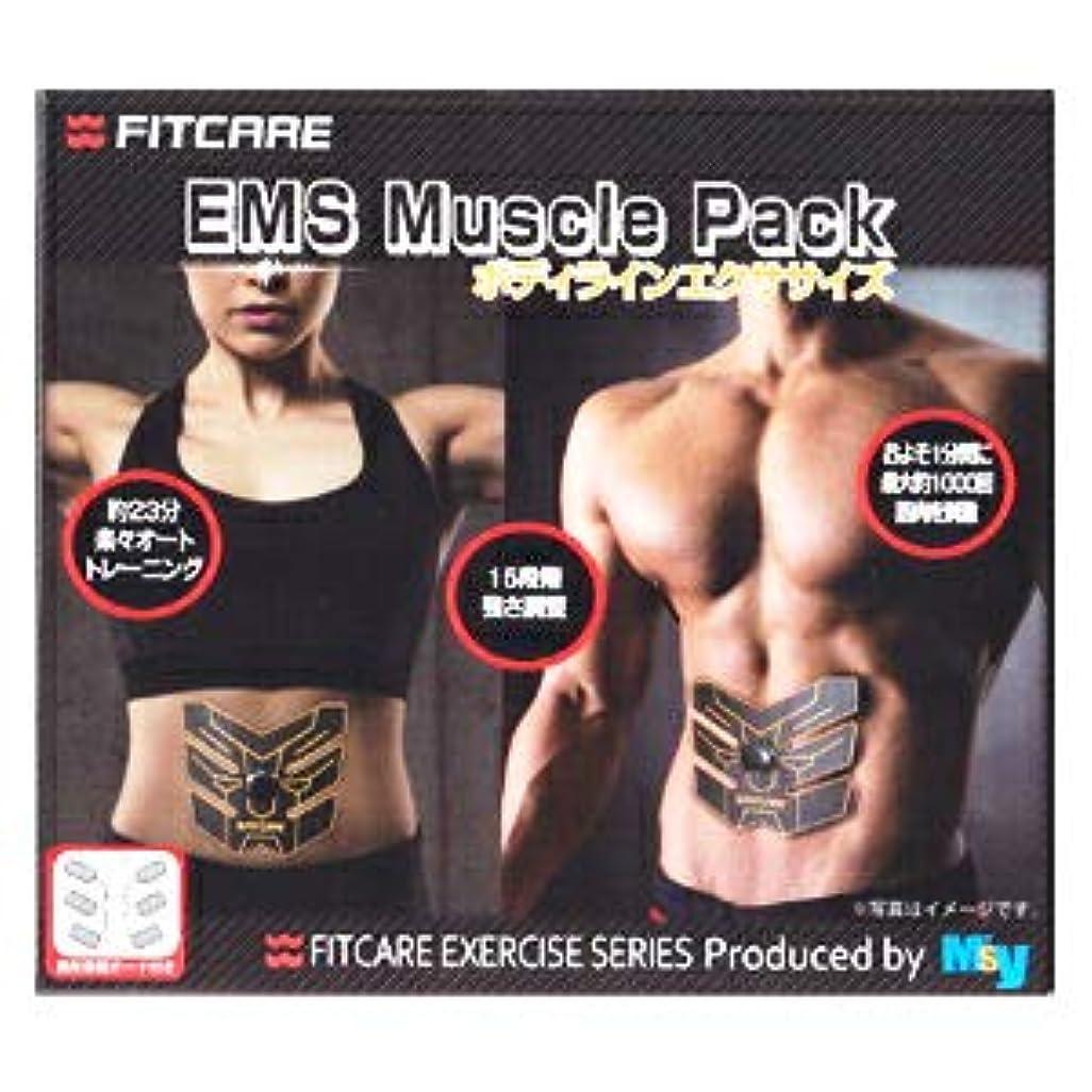 アノイ約材料【10個セット】 EMS マッスルパック ボディラインエクササイズ MEM01 CBBK(1セット) ×10個セット