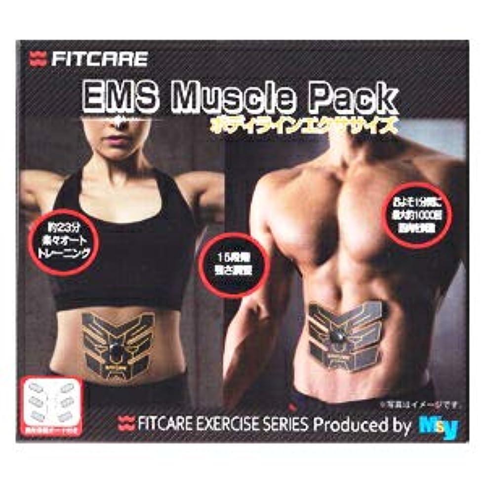 テクスチャーメダル救援【10個セット】 EMS マッスルパック ボディラインエクササイズ MEM01 CBBK(1セット) ×10個セット