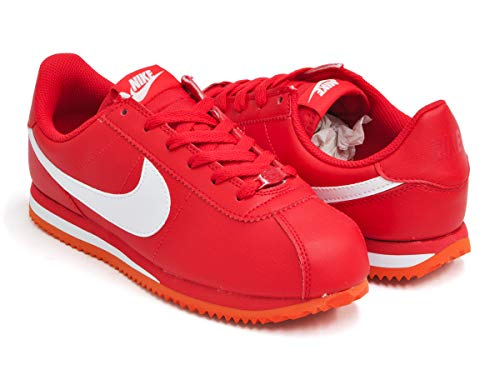[ナイキ] CORTEZ BASIC SL (GS) UNIVERSITY RED/WHITE 904764-601 23.5S(4.5Y) US [並行輸入品]