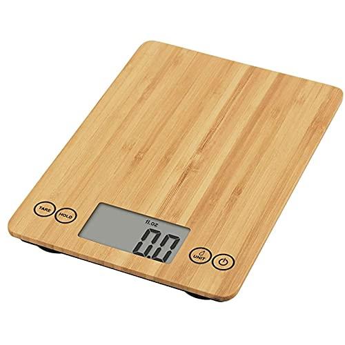 Balanza para Hornear en casa, café, Comida, Cocina, Escala Nanzhu, patrón de bambú Pesado, balanzas electrónicas FANYI