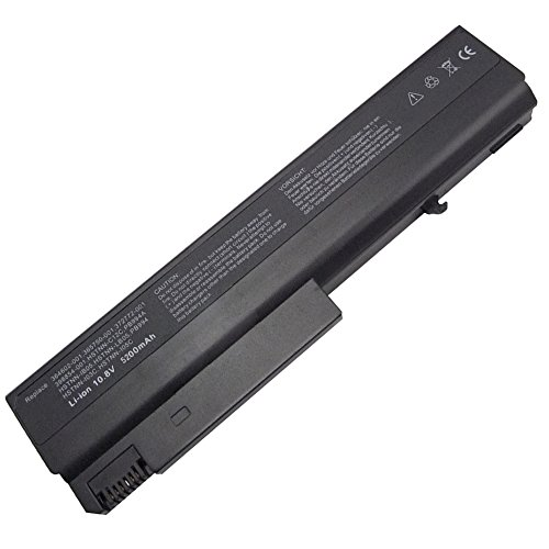 Exxact Parts Solutions Replacement Laptop Battery for HP Compaq Business Notebook 6510B 6710B 6715B 6715S 6910P 372772-001 HSTNN-DB28 NX6110 NX6120 NX6325 NC6400[Li-ion 10.8V 5200mah 6 Cell]