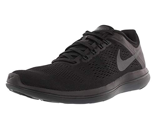 Nike Women's Flex 2016 RN Running Shoe, Black/Anthracite, 5.5 B US