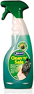 Johnson's Clean and Safe Disinfectant for Small Animals, Rabbit Pet Trigger Spray 500ml
