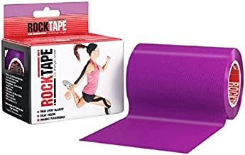 RockTape Active-Recovery Kinesiology Tape for Athletes - Uncut Roll - Extra Wide, Purple, Discontinued