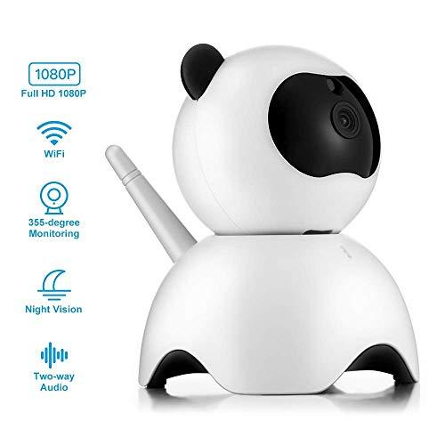 OWEM WiFi IP-Kamera, 720P HD Home Security Überwachungskamera Indoor-Kamera Unterstützung Nachtsicht Baby Ältere Nanny Cam