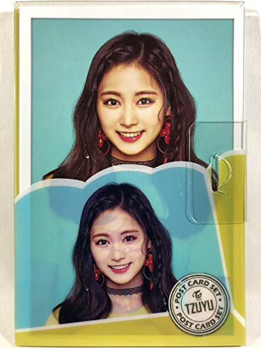 TZUYU ツウィ - TWICE トゥワイス グッズ / プラケース入り ポストカード 16枚セット - Post Card 16sheets (is included in a Plastic Case) [TradePlace K-POP 韓国製]