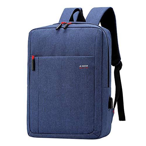 VECOLE Rucksäcke Damen Herren 2019 Neuer Großraum-Multifunktionsrucksack Computertasche Studentenrucksack Outdoor-Shopping Reiserucksack(Blau)