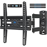 Mounting Dream TV Mount TV Wall Mount Swivel and Tilt for Most 26-55 Inch TV, Perfect Center Design, Full Motion TV Wall Mount Bracket with Articulating Arm up to VESA 400x400mm, 60 lbs, MD2377