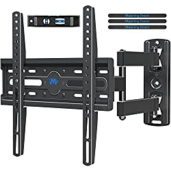 in budget affordable Dream TV bracket, UL certified for 26-55 inch TV, rotatable, tiltable wall bracket, perfect center …