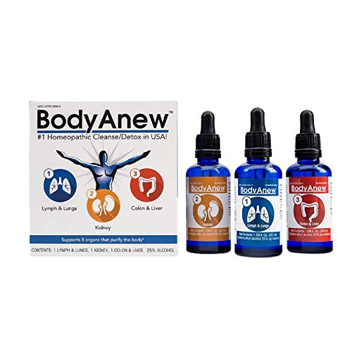 BodyAnew Cleanse - Multipack Oral Drops - 50 ml - 3 Count