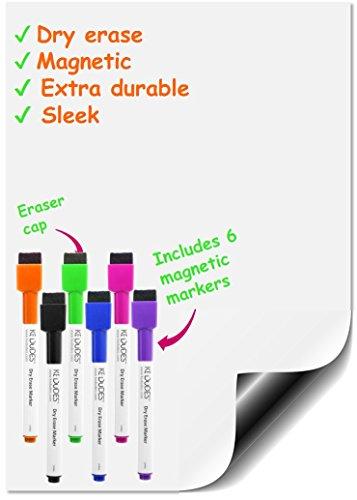 Holiday Gift - Premium Magnetic Dry Erase Whiteboard Sheet 17