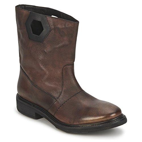 BIKKEMBERGS Texanino 12 Stiefelletten/Boots Damen Braun - 37 - Boots Shoes