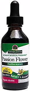 Nature'S Answer Herb Passion Flower Passionflower Herbal supplement, 2.0-oz