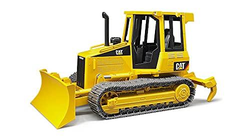Bruder 02443 - Cat Kettendozer inklusive Heckadapter