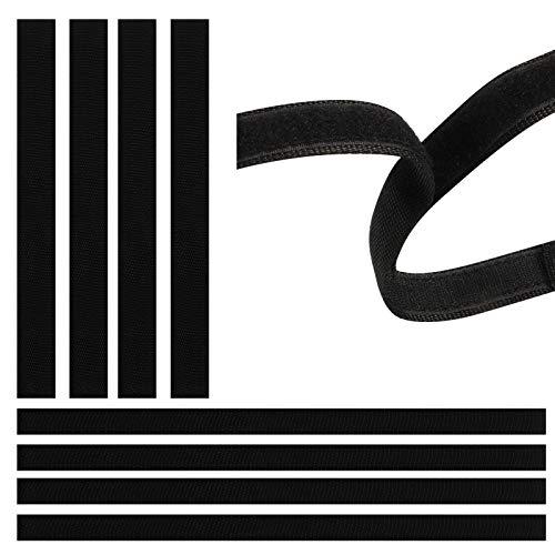 tiopeia 8 Stück Rsatzgurte Hoverboard Gurte, Schutzausrüstung, Hoverboard Kart Sitz, Verstellbare Ersatzklettband für Self Balance Scooter Kart Zubehör