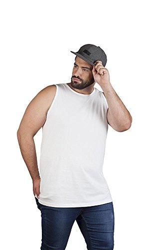 Promodoro Athletic Tank Top Plus Size Herren, XXXL, Weiß